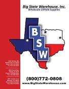 Big State Warehouse Catalog